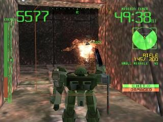 Screenshot Thumbnail / Media File 1 for Armored Core [U] (v1.0)